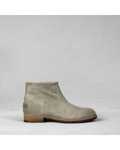 Ankle boot suede Dark Taupe