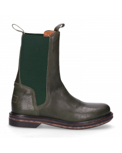 Chelsea-boot-smooth-leather-Green