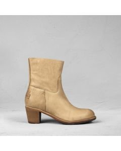 Ankle boot heavy grain leather Light Brown