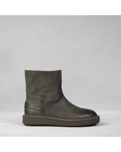 Ankle-boot-waxed-suede-Grey
