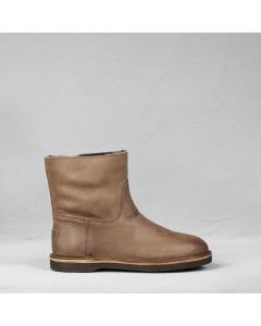 Ankle-boot-heavy-grain-leather-Brown