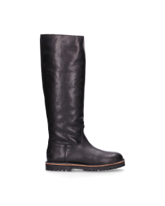 Boot-smooth-leather-Black-