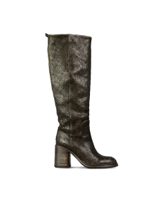 Boot-cutted-leather-Dark-Brown