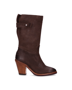 Boot-waxed-grain-leather-Dark-Brown