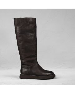 Boot waxed nubuck Dark Brown