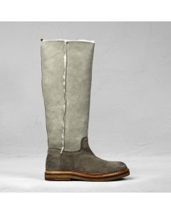 Boot reversed leather Light Taupe