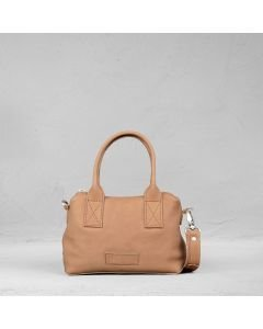 Handbag-smooth-leather-dark-brown