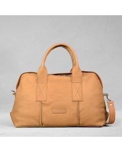 Handbag-smooth-leather-naturel