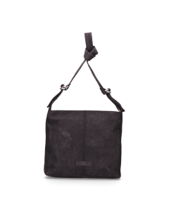 Shoulderbag-waxed-grain-leather-Black-
