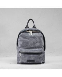 Backpack-suede-denim-blue