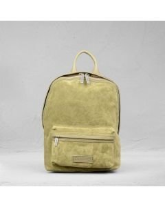 Backpack-suede-green