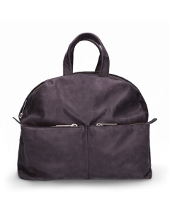 Backpack-hand-buffed-leather-Black