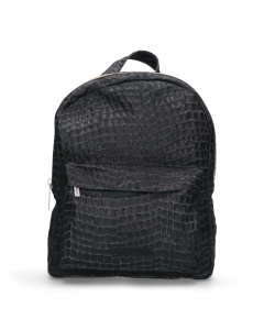 Backpack-croco-printed-leather-Green-