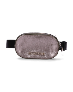 Sisterhood-bum-bag-silver-black-green