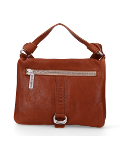 Cross-body-smooth-leather-Cognac