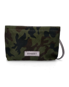 Evening-bag-camouflage-pony-Green