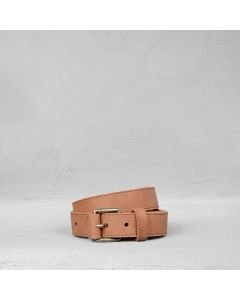 Belt-grain-leather-brick-brown
