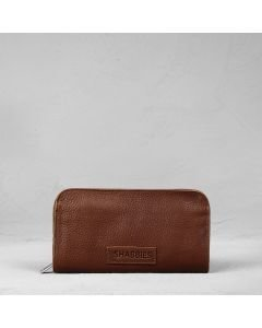 Wallet-grain-leather-Brown