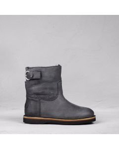 Ankle-boot-heavy-grain-leather-Black