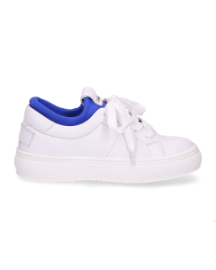 Kids-sneaker-white-leather-neoprene-sock-blue-28-till-35