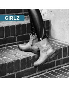 Kids-ankle-boot-grain-leather-Grey