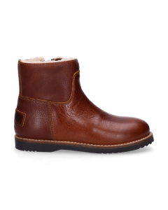 KIDS-//-Ankle-boot-polished-leather-Brown-28-35
