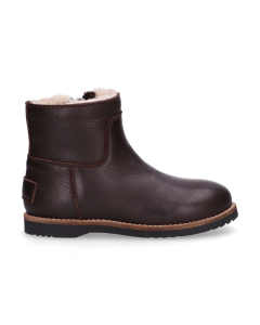 KIDS-//-Ankle-boot-polished-leather-Dark-Brown-28-35