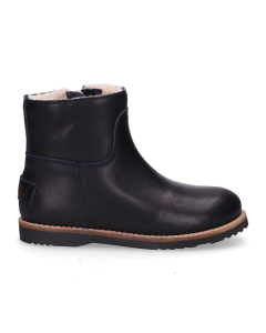 KIDS-//-Ankle-boot-polished-leather-Navy-Blue-28-35