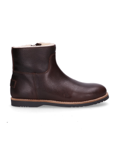 KIDS-//-Ankle-boot-polished-leather-Dark-Brown-36-39