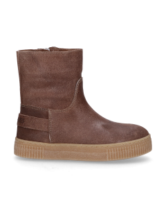 KIDS-//-Ankle-boot-waxed-suede-Taupe-28-35
