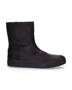 KIDS-//-Ankle-boot-waxed-suede-Grey-36-39