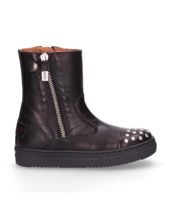 KIDS-//-Ankle-boots-polished-leather-Black-28-35-