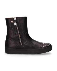 KIDS-//-Ankle-boots-polished-leather-36-39-Black