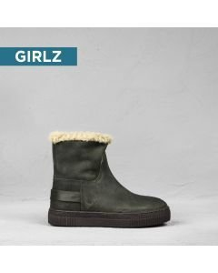 Kids-ankle-boot-suede-Grey