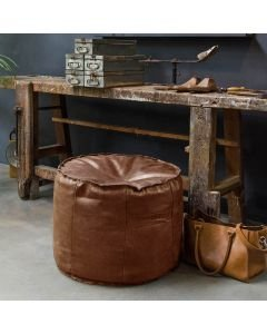 POUF-GINGER-HAND-BUFFED-LEATHER-4055