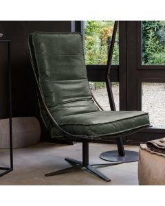 CHAIR-BRUTUS-HAND-BUFFED-LEATHER-Dark-Green