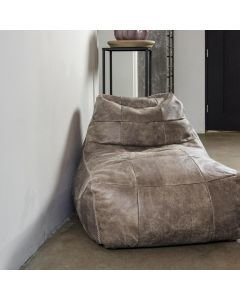 BEANBAG-LAZY-FRED-HAND-BUFFED-LEATHER-Beige