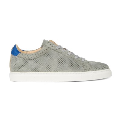 SNEAKER-LOW-PERFORATED-SUEDE-Grey