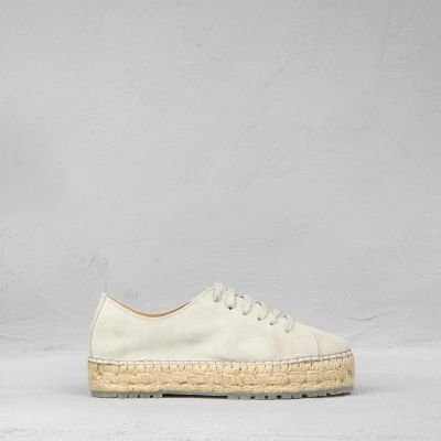 Espadrille-lace-up-shoe-suede-white