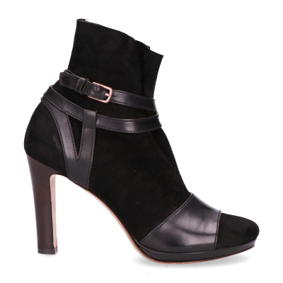 Sandalet-smooth-leather-with-suede-sock-Black