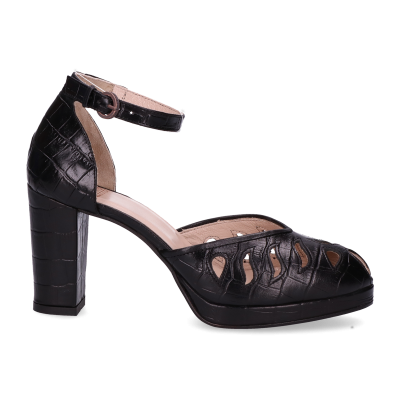 Sandalet-croco-printed-leather-Black