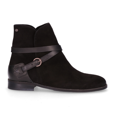 Ankle-boot-luxury-suede-Black