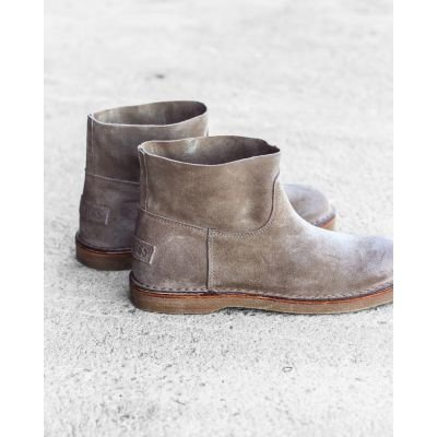 Ankle-boot-suede-Taupe