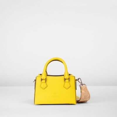 MICRO-BAG-WITH-GUITAR-STRAP-VEG.-TANNED-LEATHER-Yellow