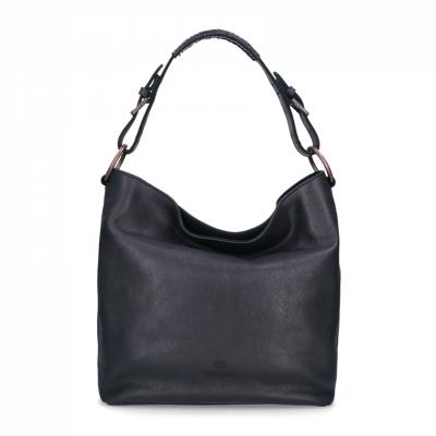 Schoulderbag-hand-buffed-leather-Super-Black