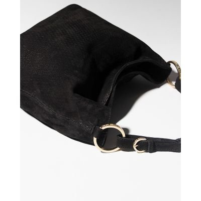 Shoulderbag-cutted-grain-leather-Black-
