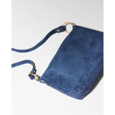 Shoulderbag-cutted-leather-Jeans-Blue-