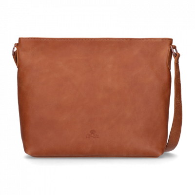 Cross-body-hand-buffed-leather-Cognac