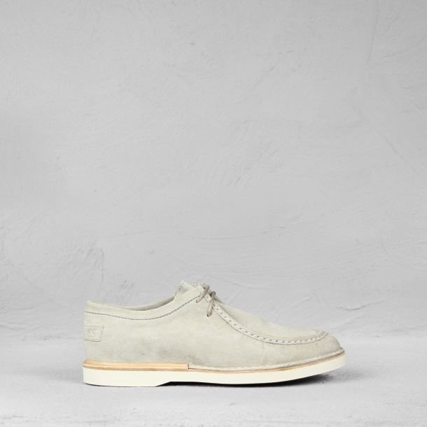 Lace-up shoe suede Off-White
