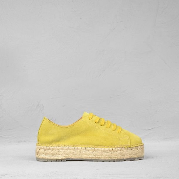 Espadrille-lace-up-shoe-suede-mustard-yellow